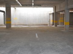 Debrecen, Békessy Béla utca - Parking place next to Universities